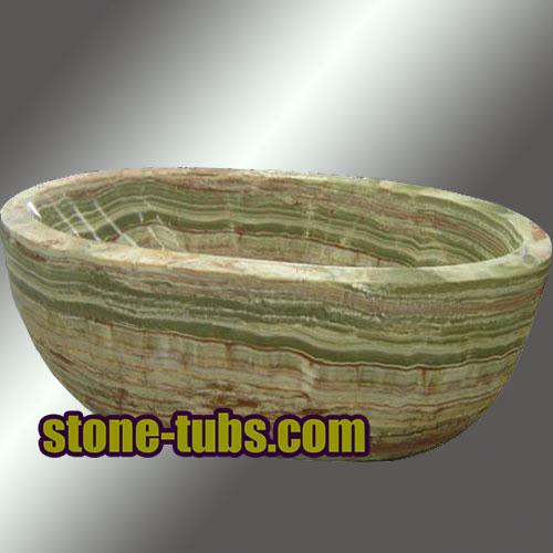 Onyx Marble Bathtub