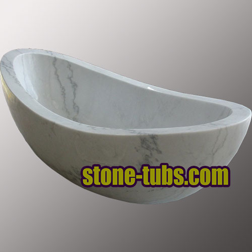 marble soaker tub