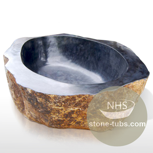 Granite around bathtub