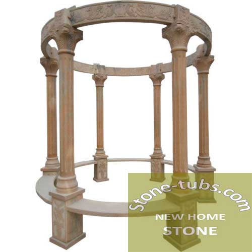 Custom Marble Gazebos
