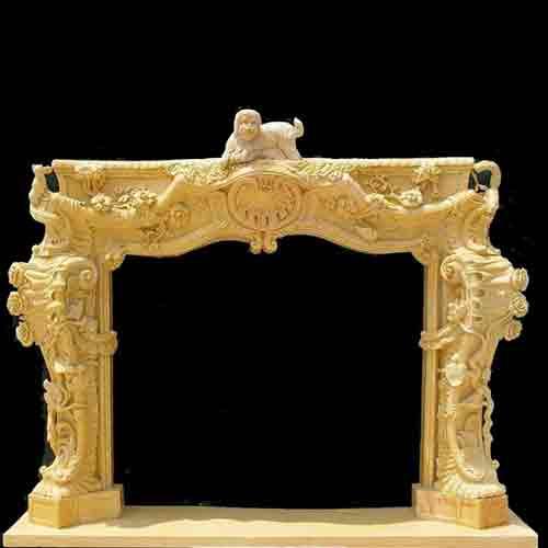 Shabby Chic Fireplace Mantel