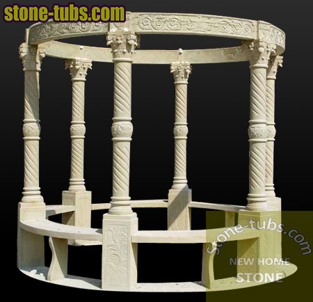 Stonce Carved Gazebos