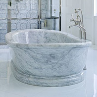 white marble bathtub soaker bathtub luxury bathtubs