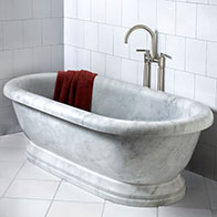 sulptural soaking tub