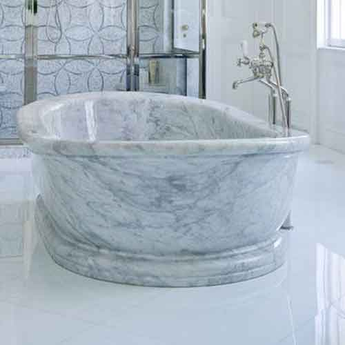 Attractive Carved Stone Bathtub · White Marble Bathtub Soaker Bathtub Luxury Bathtubs