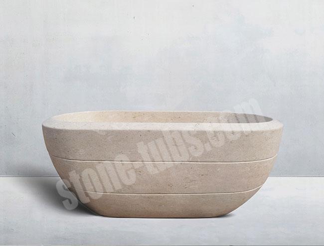 Black granite stoneforest stone bathtub prices for Limestone tub