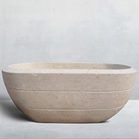 limestone-bathtub